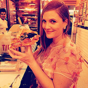 Drew Barrymore at the Golden Globes 2014
