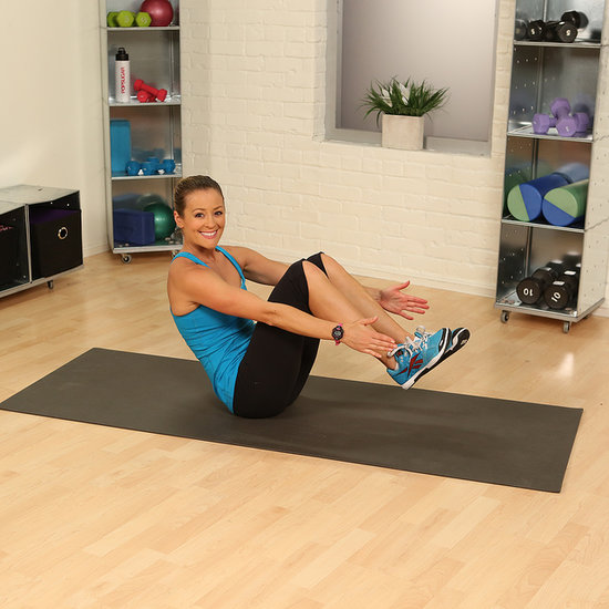 One-Minute Fitness Challenge For Abs: Atomic Crunch
