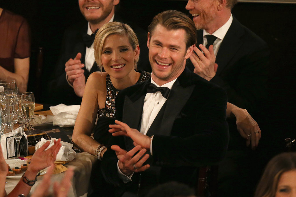 Chris hemsworth and elsa pataky were one hot couple in the for Elsa pataky y chris hemsworth