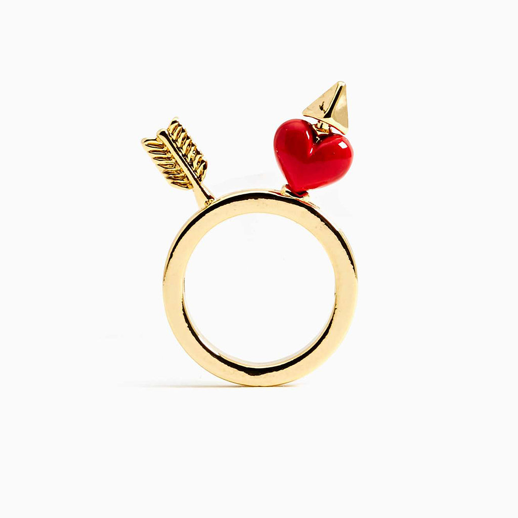 Nasty gal heart and arrow ring all you need is love for Jewelry storm arrow ring