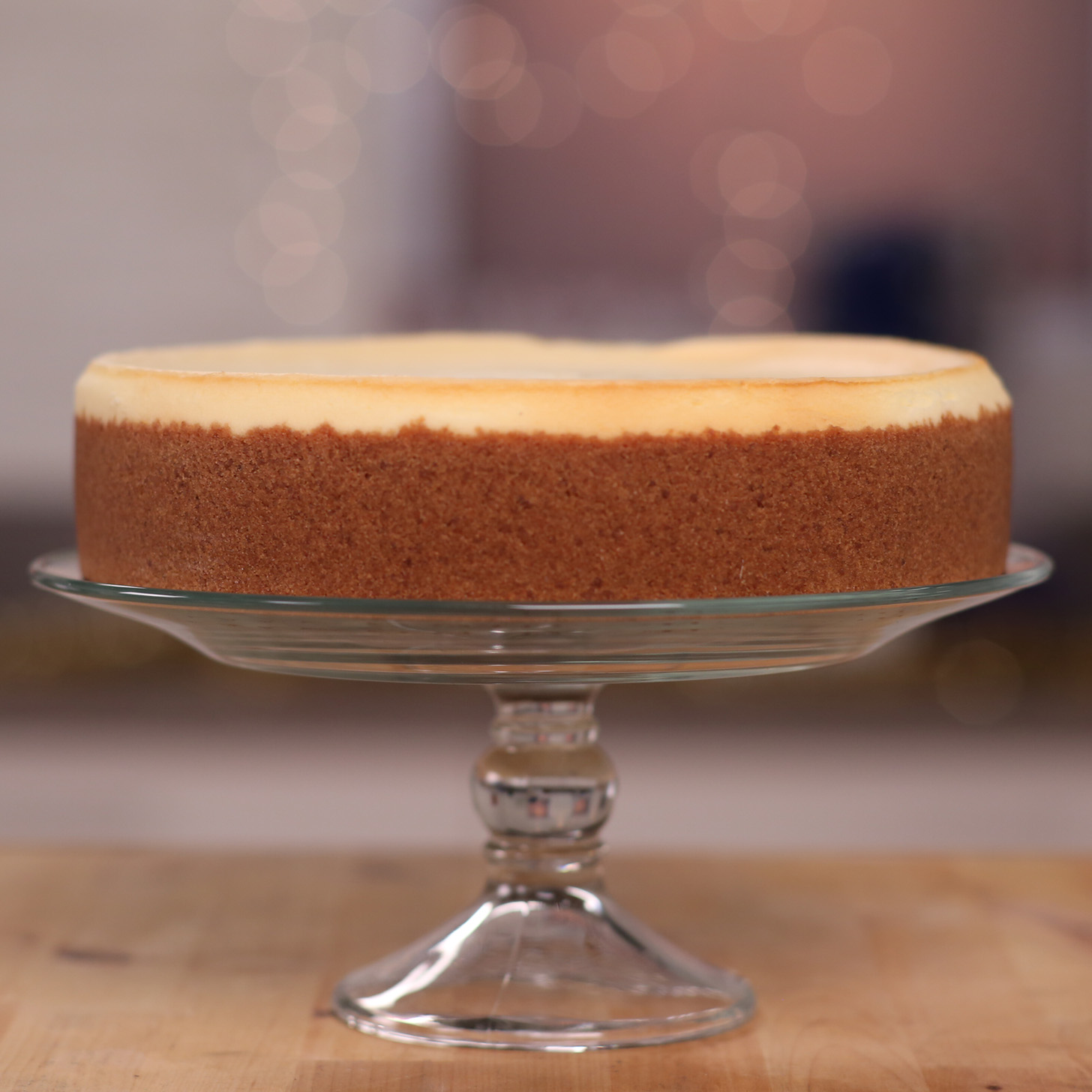 new york cheesecake recipe video popsugar food. Black Bedroom Furniture Sets. Home Design Ideas