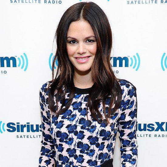 Rachel Bilson Flower Dress at SiriusXM