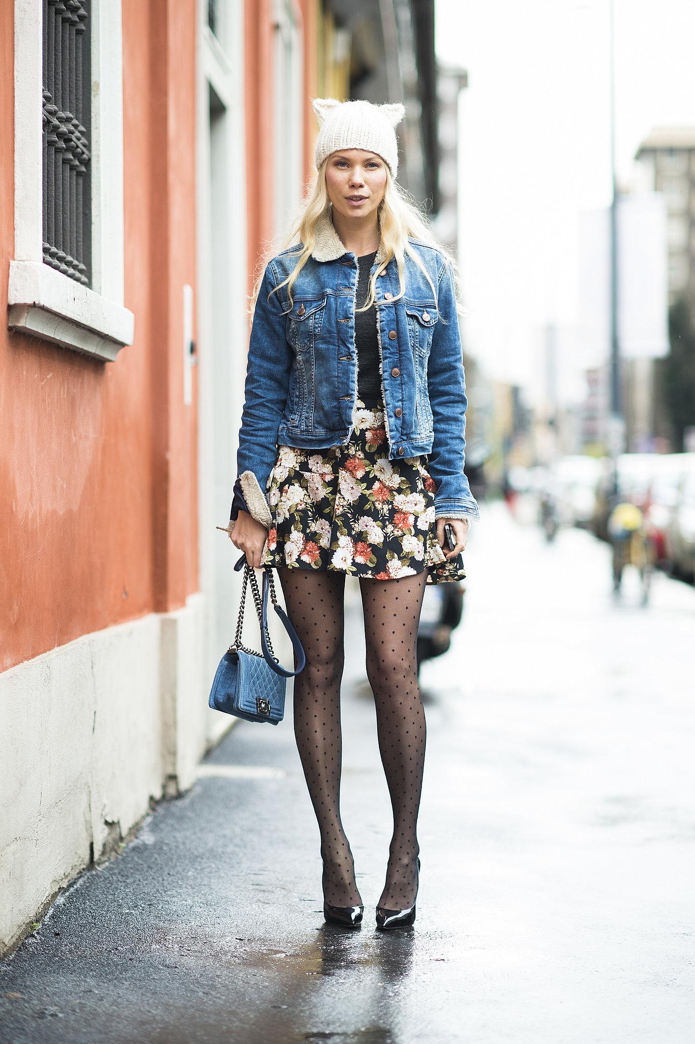 Part girlie girl, part cool girl.  Source: Le 21ème   Adam Katz Sinding