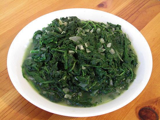 No-Cream Creamed Spinach