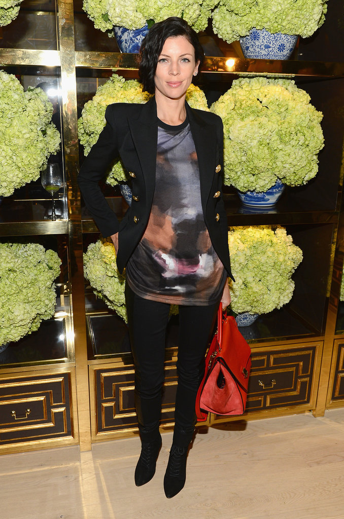 Liberty Ross at the Tory Burch Rodeo Drive flagship opening.