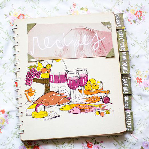 Create a Family Recipe Book