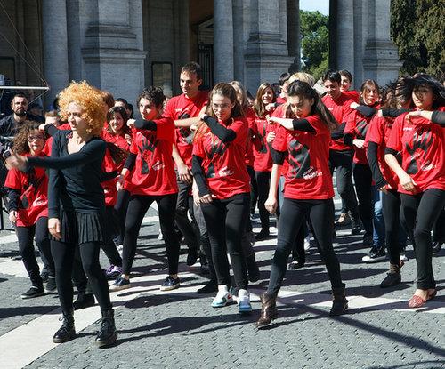 Participate in a Flash Mob