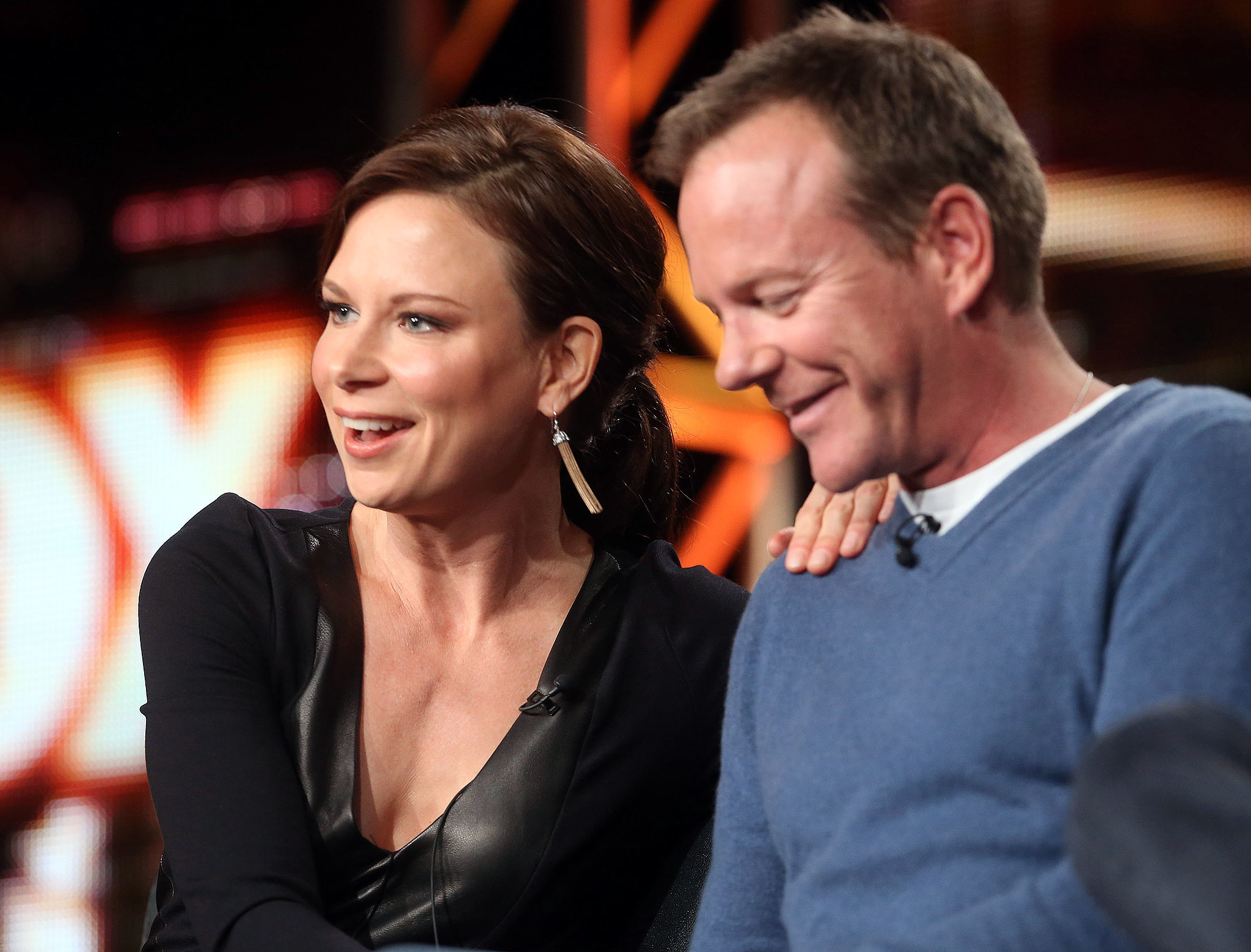 Kiefer Sutherland and Mary Lynn Rajskub reunited for a 24: Live Another Day.