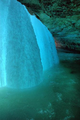 Walk Behind a Waterfall