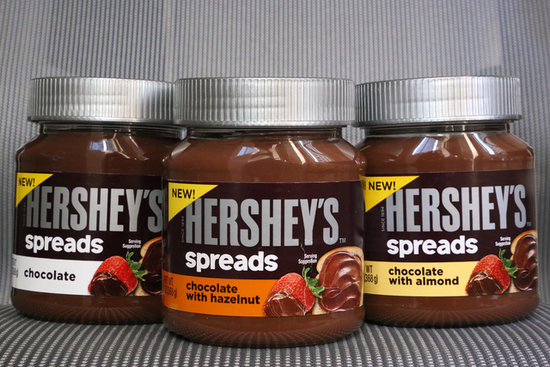 The Craziest Stuff We Dipped in Hershey's New Chocolate Spreads