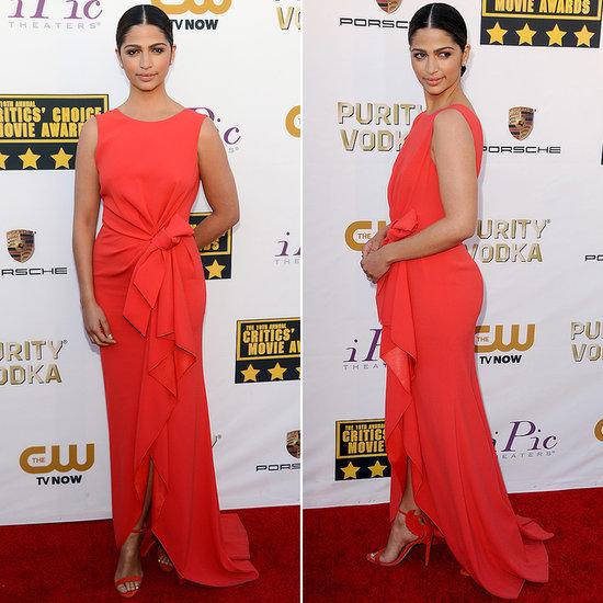 Camila Alves's Dress at Critics' Choice Awards 2014