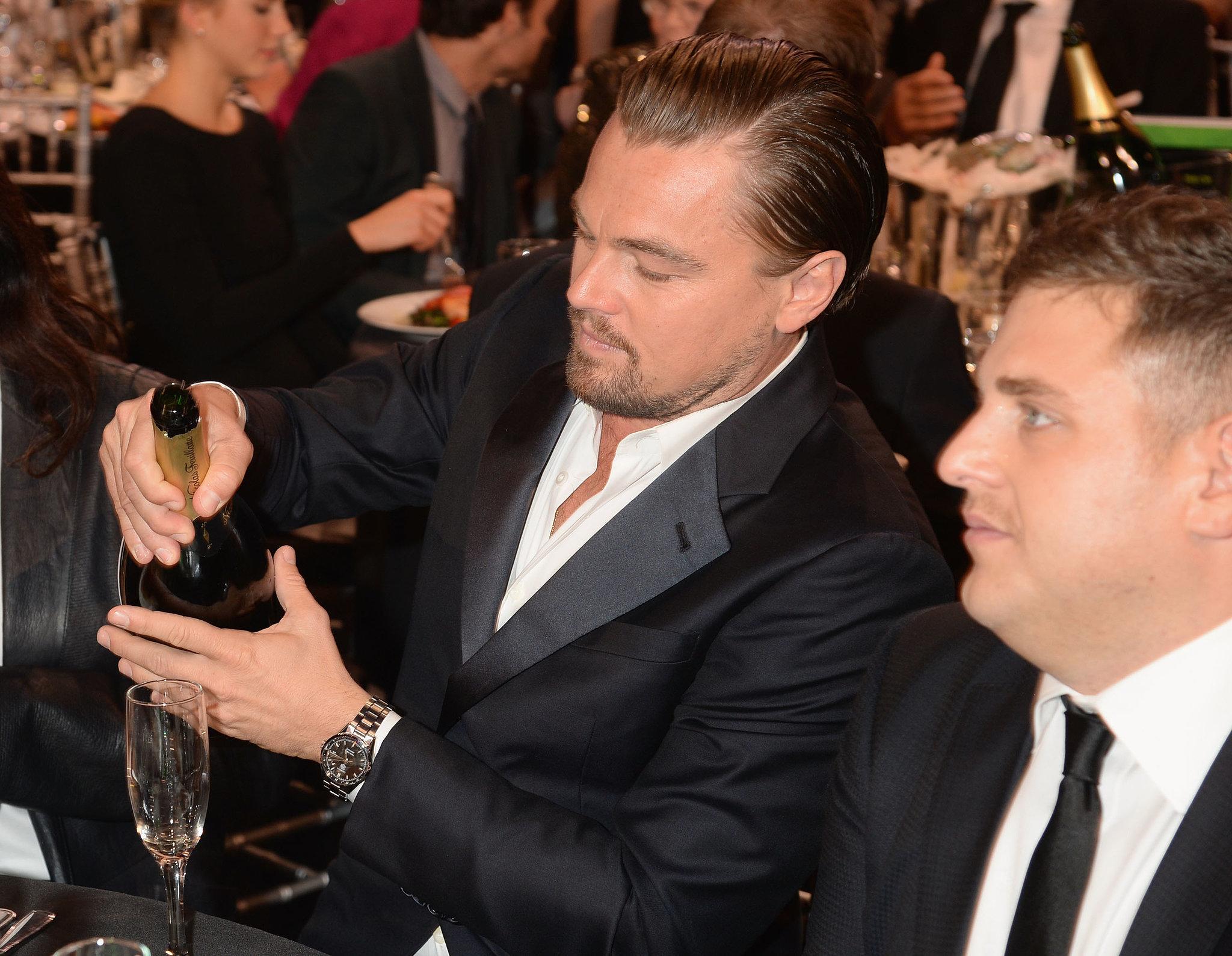 Winning Looks Good on Leonardo DiCaprio