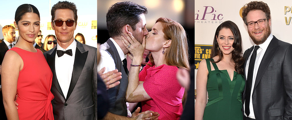 Love Is in the Air at the Critics' Choice Awards