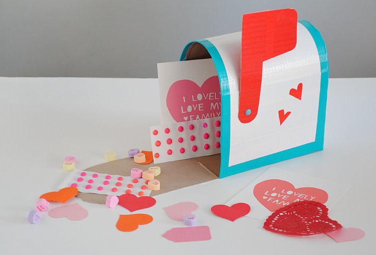 Mailbox Valentine Card Box Crafthubs – Valentines Card Box Ideas