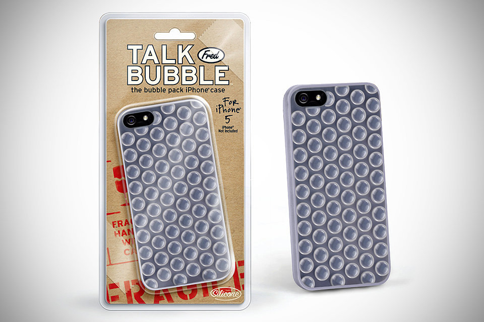 The only reason this bubble wrap case ($15) is not OK is because it's not really real. Those bubbles are just a sad illusion.