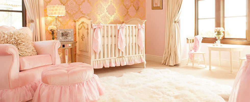 25 Ideas For a Pretty in Pink Nursery
