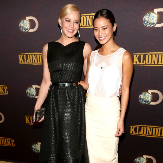 Jamie Chung White Dress Klondike Premiere