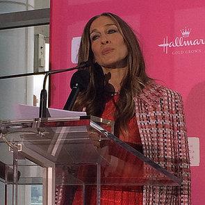 Sarah Jessica Parker Talks Motherhood at Hallmark Launch