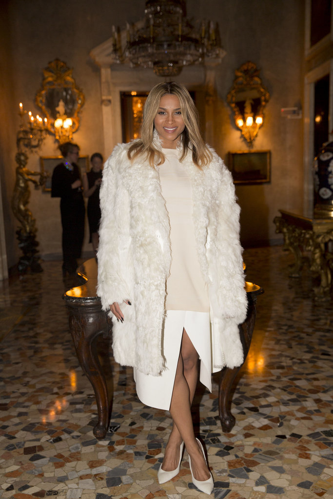 Ciara at the Calvin Klein Collection Afterparty