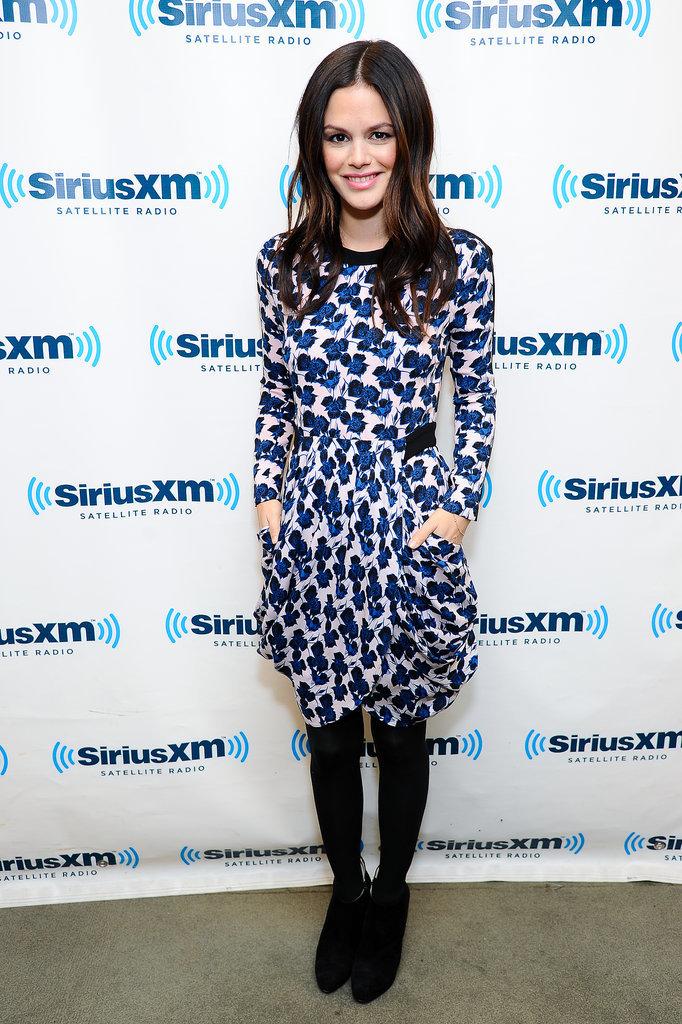 Rachel Bilson at SiriusXM Studios