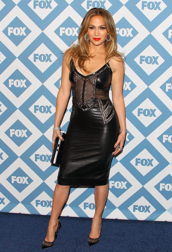 Jennifer Lopez at the Fox All-Star Party