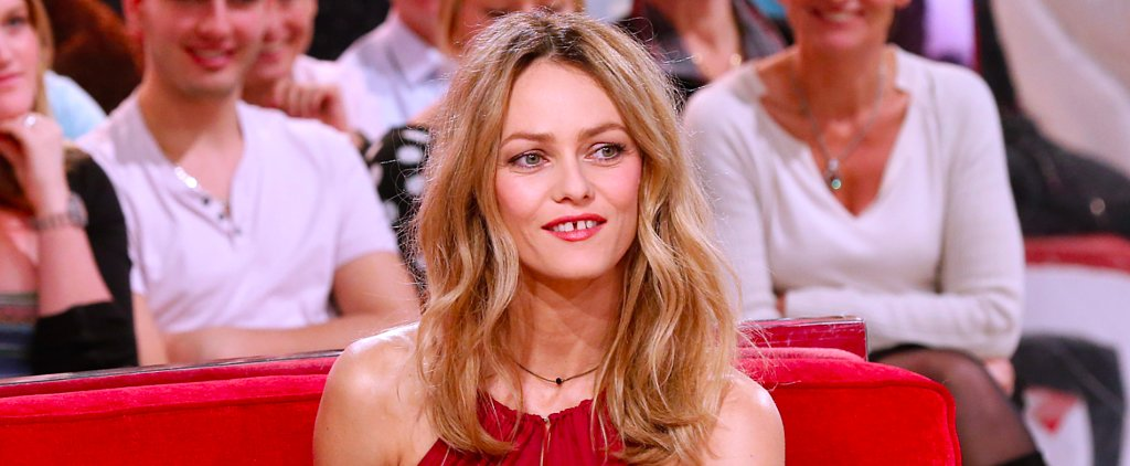 Vanessa Paradis Is Wearing That Perm You Had in the '80s