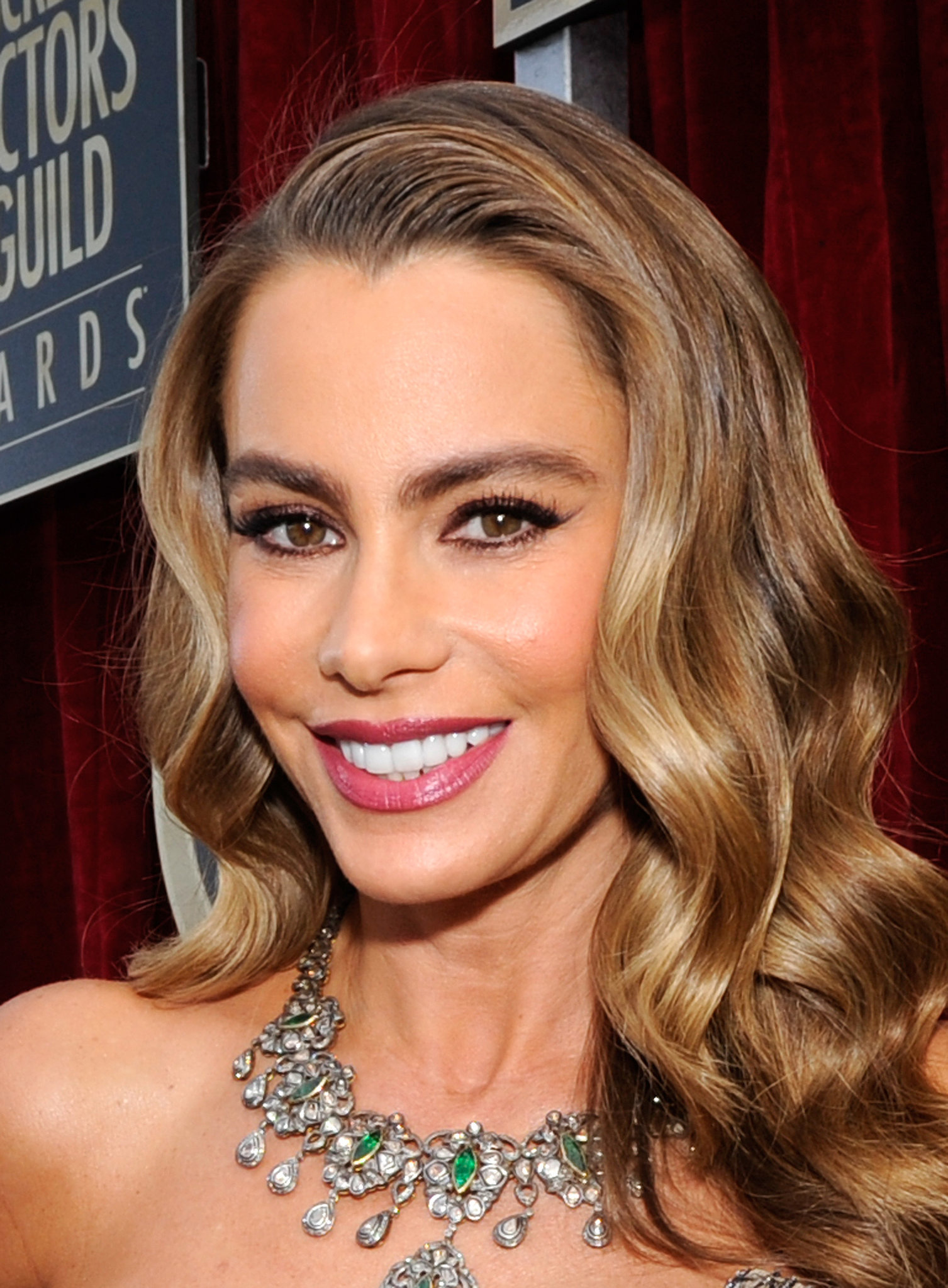 Sofia Vergara Is Very Happy About Her SAG Win