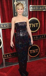 Jennifer Lawrence at the  2014 SAG Awards