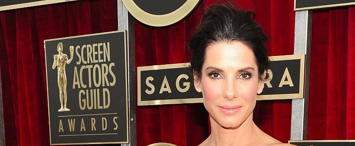 Sandra Bullock Elevates the Bun From Boring to BAM, Right?!