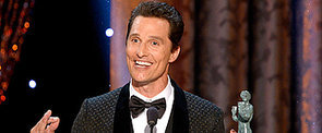 Watch Matthew McConaughey's Bizarre SAG Award Acceptance Speech