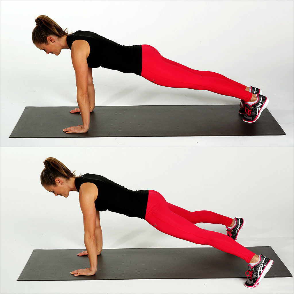 Plank Jacks | Calorie-Torching Plyo Workout With Weights ...