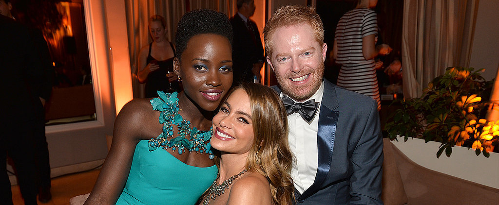 Lupita Nyong'o Sets Tinseltown Aglow at Weinstein's SAGs Bash