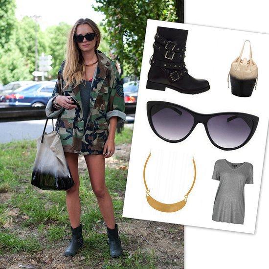 Camo Street Style | Shopping