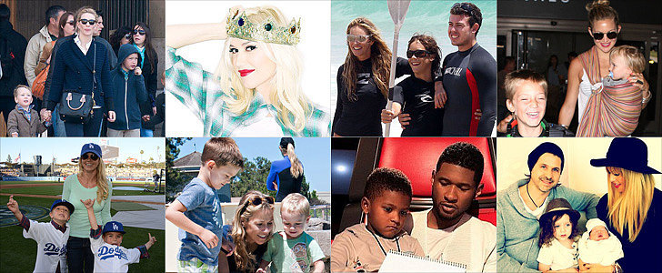No Girls Allowed! 13 Celeb Families Where Little Boys Abound