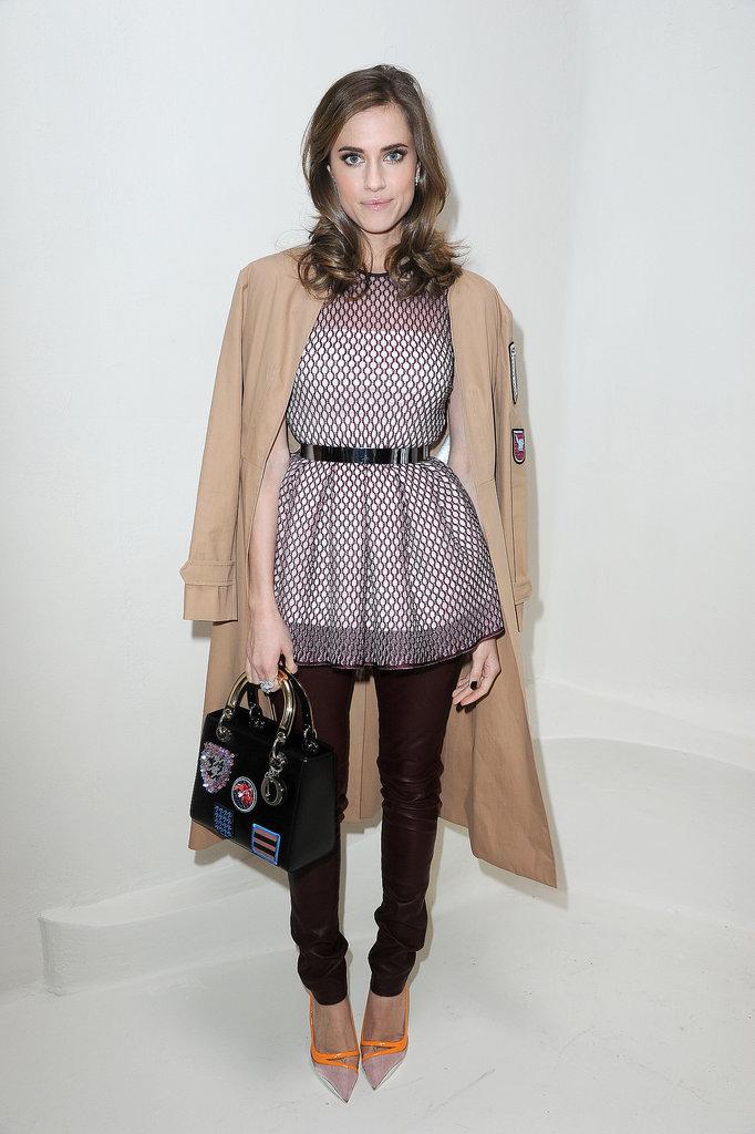 Allison Williams at the Label's Haute Couture Show