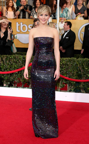 Jennifer Lawrence at the Screen Actors Guild Awards