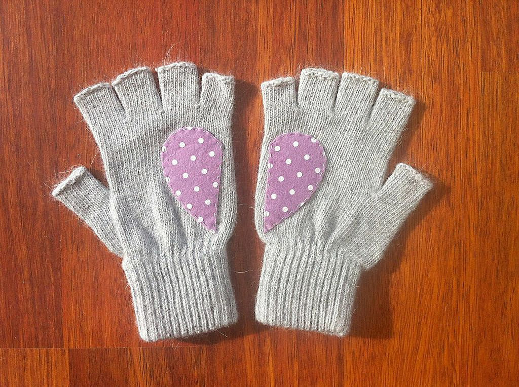 These fingerless heart gloves ($35) are perfect for your BFF who won't let the cold stop her from texting.