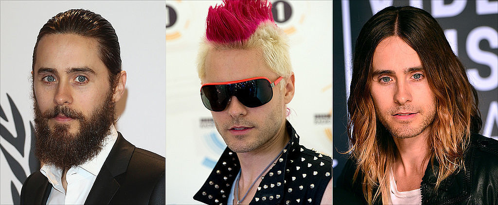 POPSUGAR Shout Out: Jared Leto's Wonderful Hair Evolution