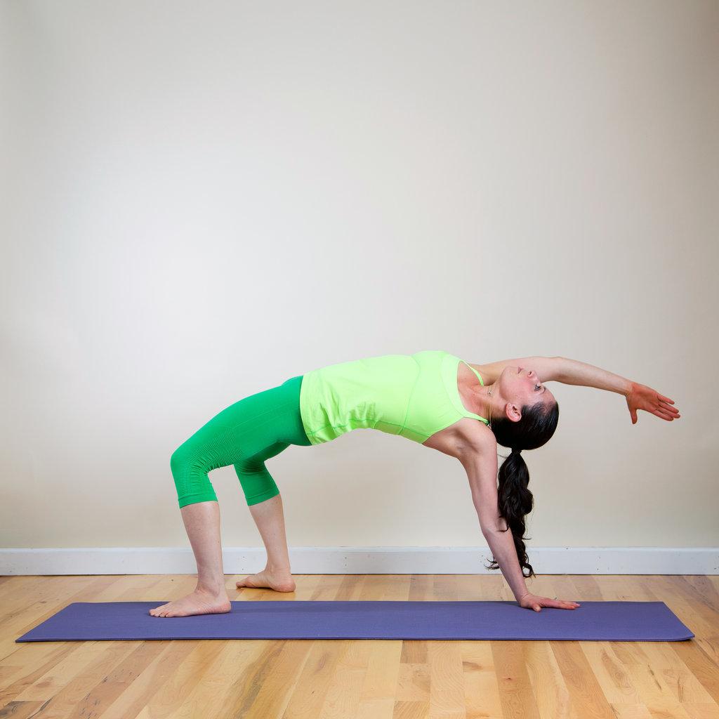 Yoga for runner 39 s legs popsugar fitness for Table yoga pose