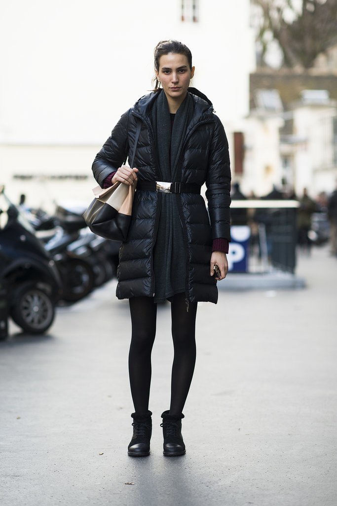 Reinvent the puffer coat just by refusing the use the ...