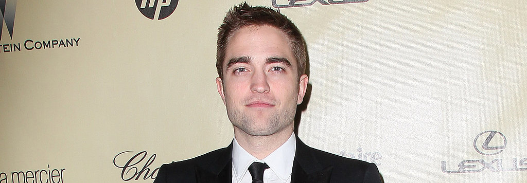 Finally! We Learn the Secret to Robert Pattinson's Good Looks