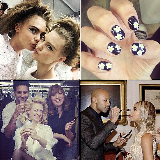 Celebrity Beauty Instagrams   Jan. 22, 2014