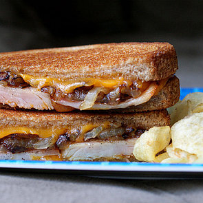 Ham and Caramelized Onion Grilled Cheese Recipe