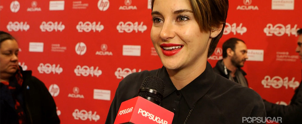 Shailene Woodley Dishes on The Fault in Our Stars