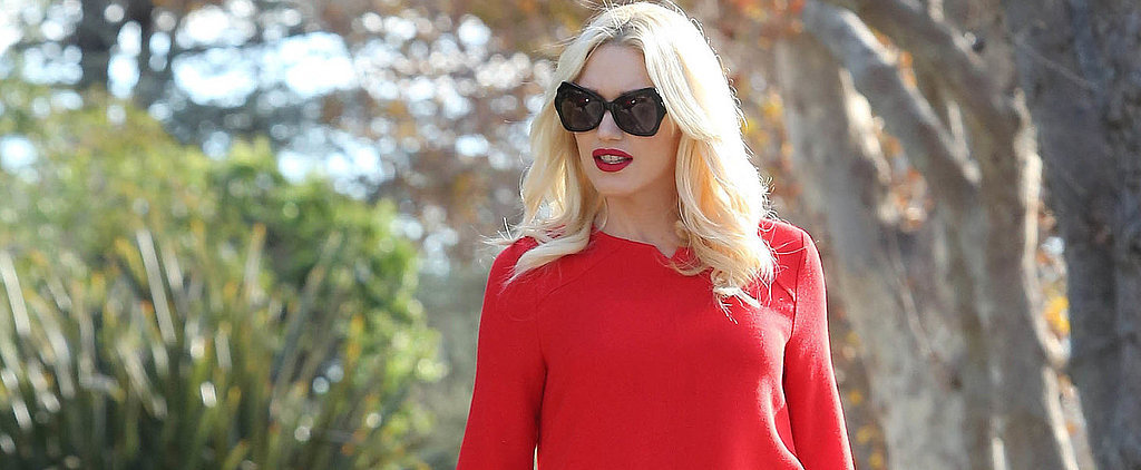 Gwen Stefani's Pregnant Selfie Is Picture-Perfect!