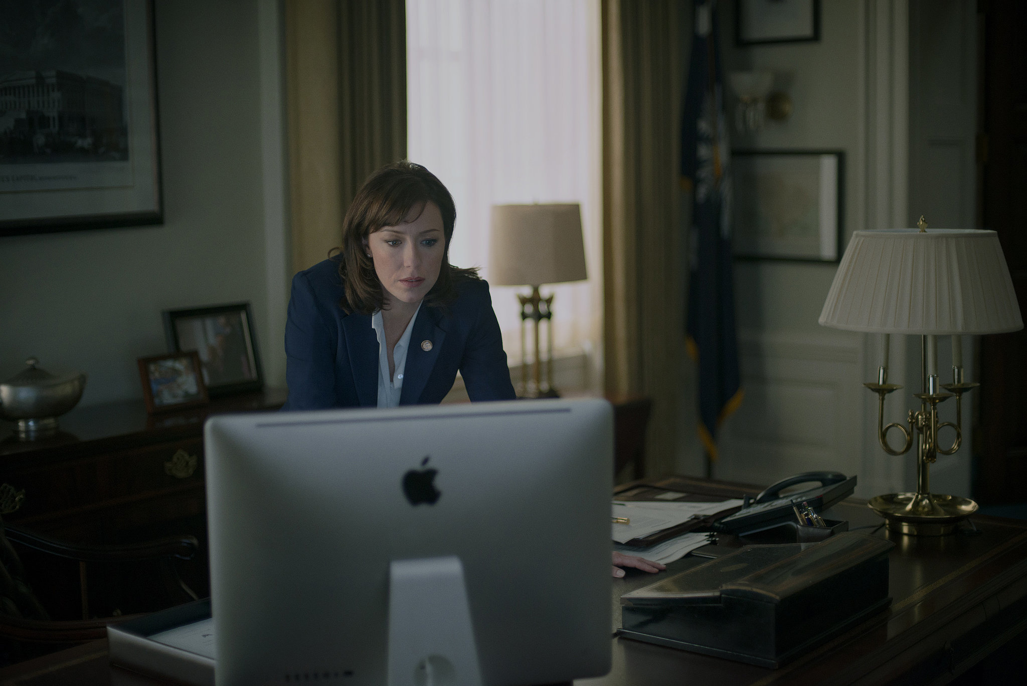 Molly Parker joins the cast of House of Cards. Source: Netflix