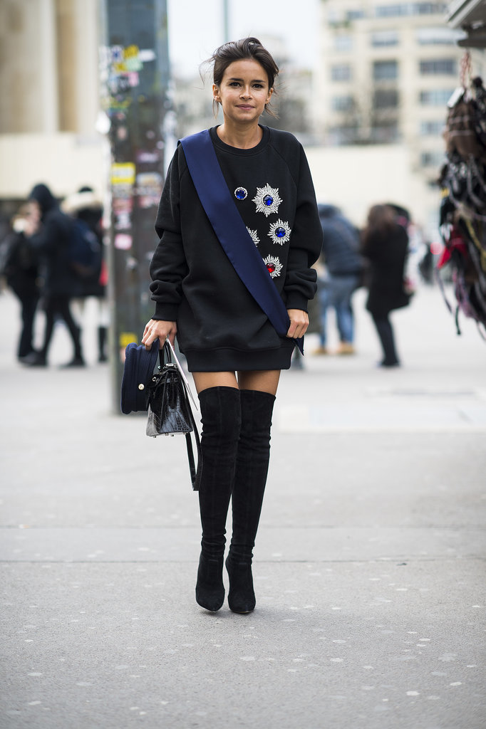 Street Style At Couture Fashion Week 2014 Popsugar Fashion