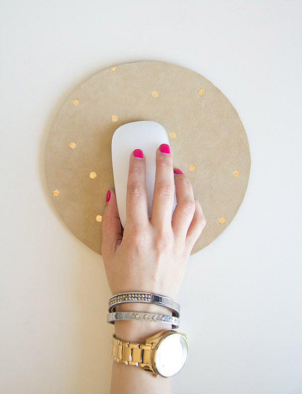 Metallic Mouse Pad