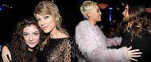 Miley, Taylor and Lorde Hit High Notes at Famed Pre-Grammy Bash