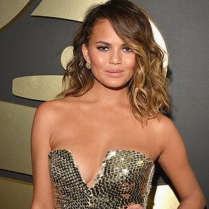 Chrissy Teigen's Dress at Grammys 2014